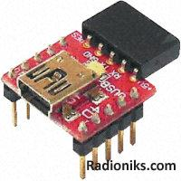 micro USB to RS232 (CP2102) converter