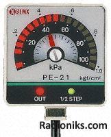 Bar display pressure sensor,0 to -1bar