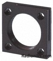 Flange mounting plate,56x56mm 12mm thick